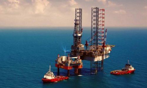 Oil fields in Ghana